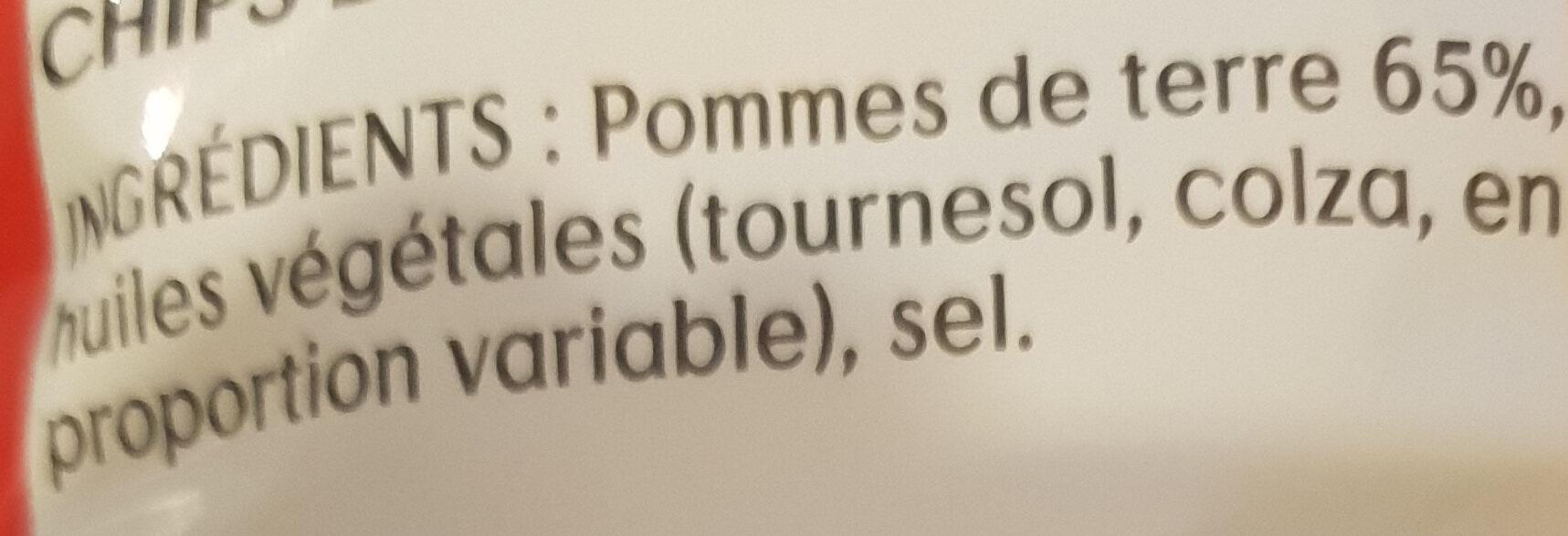 Nature - Ingrédients - fr