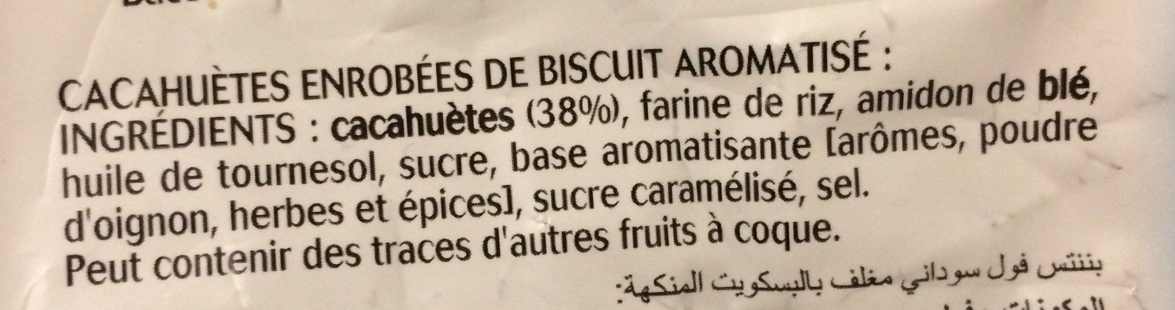 Twinuts - Ingredients - fr