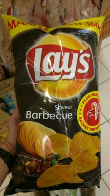 Lay's saveur barbecue maxi format - Product - fr