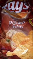 Chips lay's poulet roti 360g sachet refermable - Produit - fr