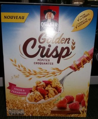 Golden Crisp Fraises & Framboises - Product - fr