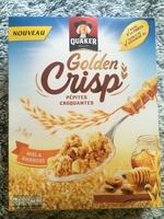 Golden Crisp - Pépites Croquantes - Miel et amandes - Produit - fr