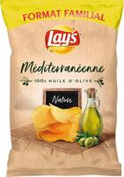 Lay's Méditerranéenne 100% huile d'olive nature format familial - Produit - fr