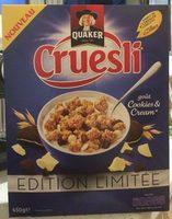 Cruesli - Goût Cookies & Cream - Produit - fr