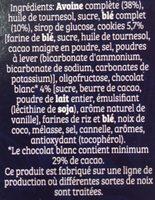 Cruesli - Goût Cookies & Cream - Ingrédients - fr