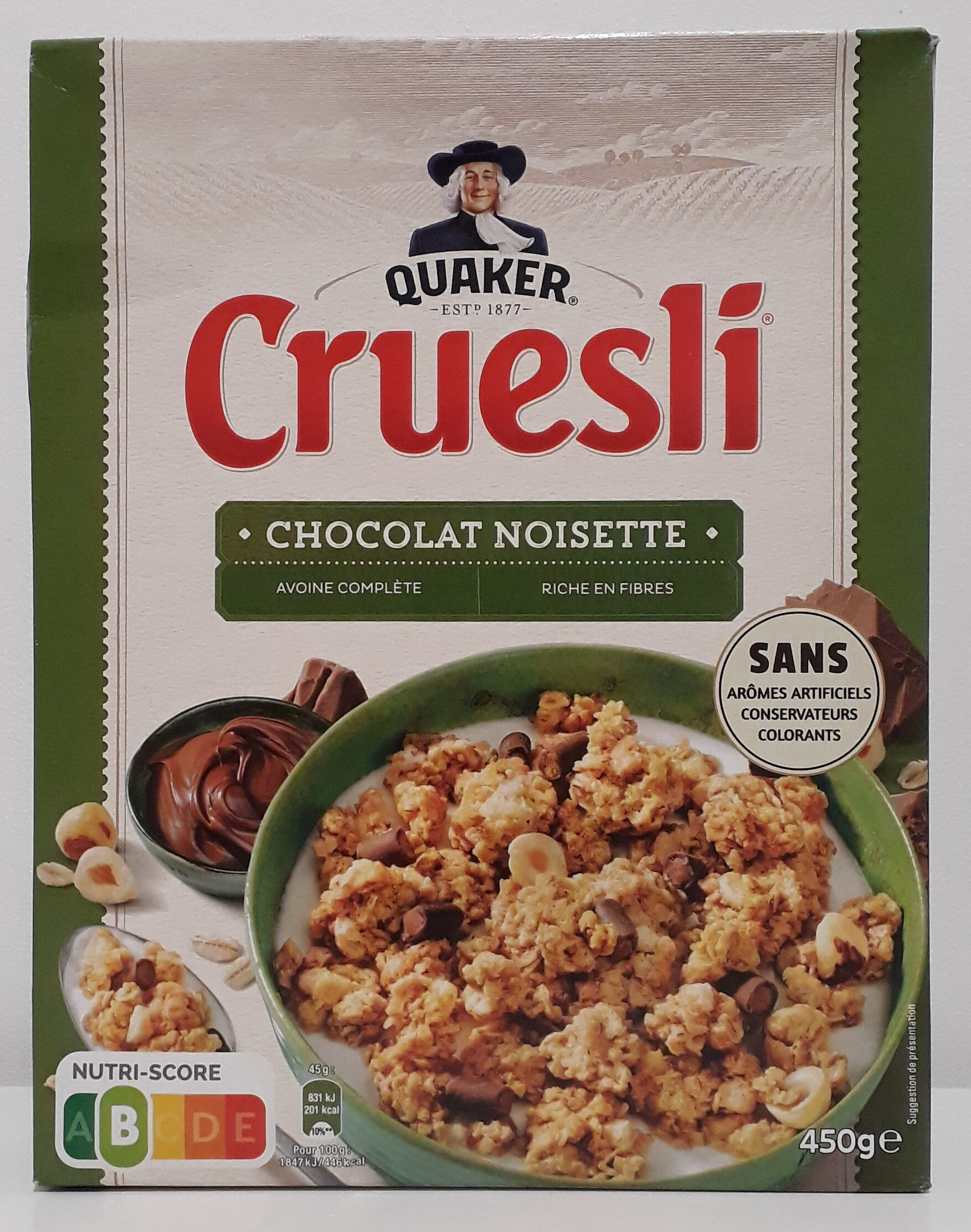 Cruesli Chocolat Noisette - Prodotto - fr