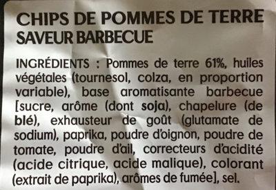 Saveur Barbecue - Ingrediënten
