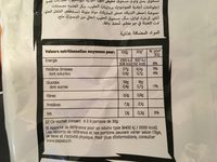 Doritos Nacho Cheese - Voedigswaarden