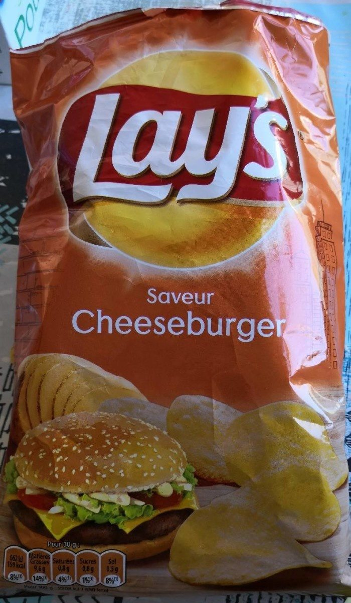 Chips Saveur Cheesburger - Product - fr