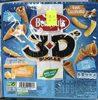 3D's Bugles goûts salé, emmental, cacahuète - Product