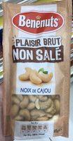 Plaisir Brut Non Salé Noix de Cajou - Produit