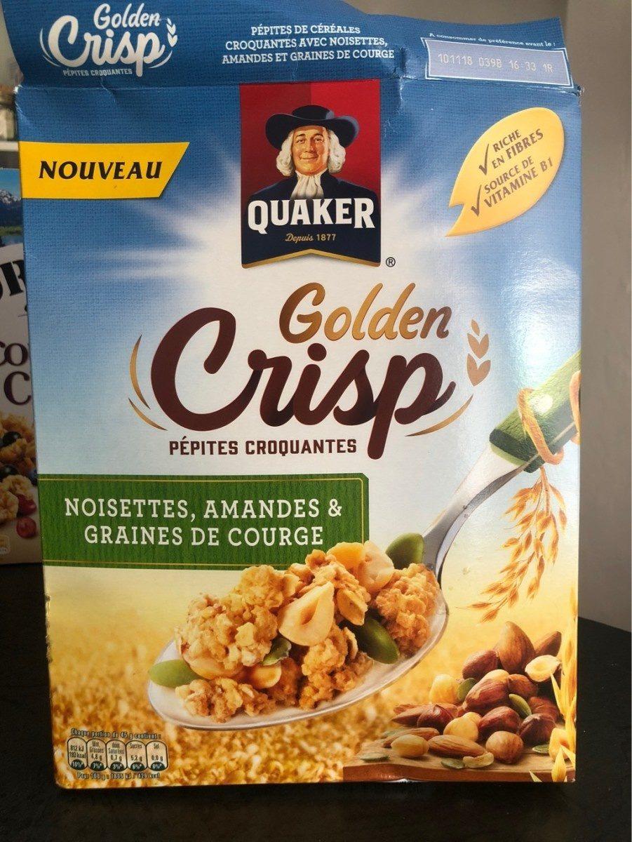 Golden Crisp Noisettes, amandes et graines de courge - Produit - fr