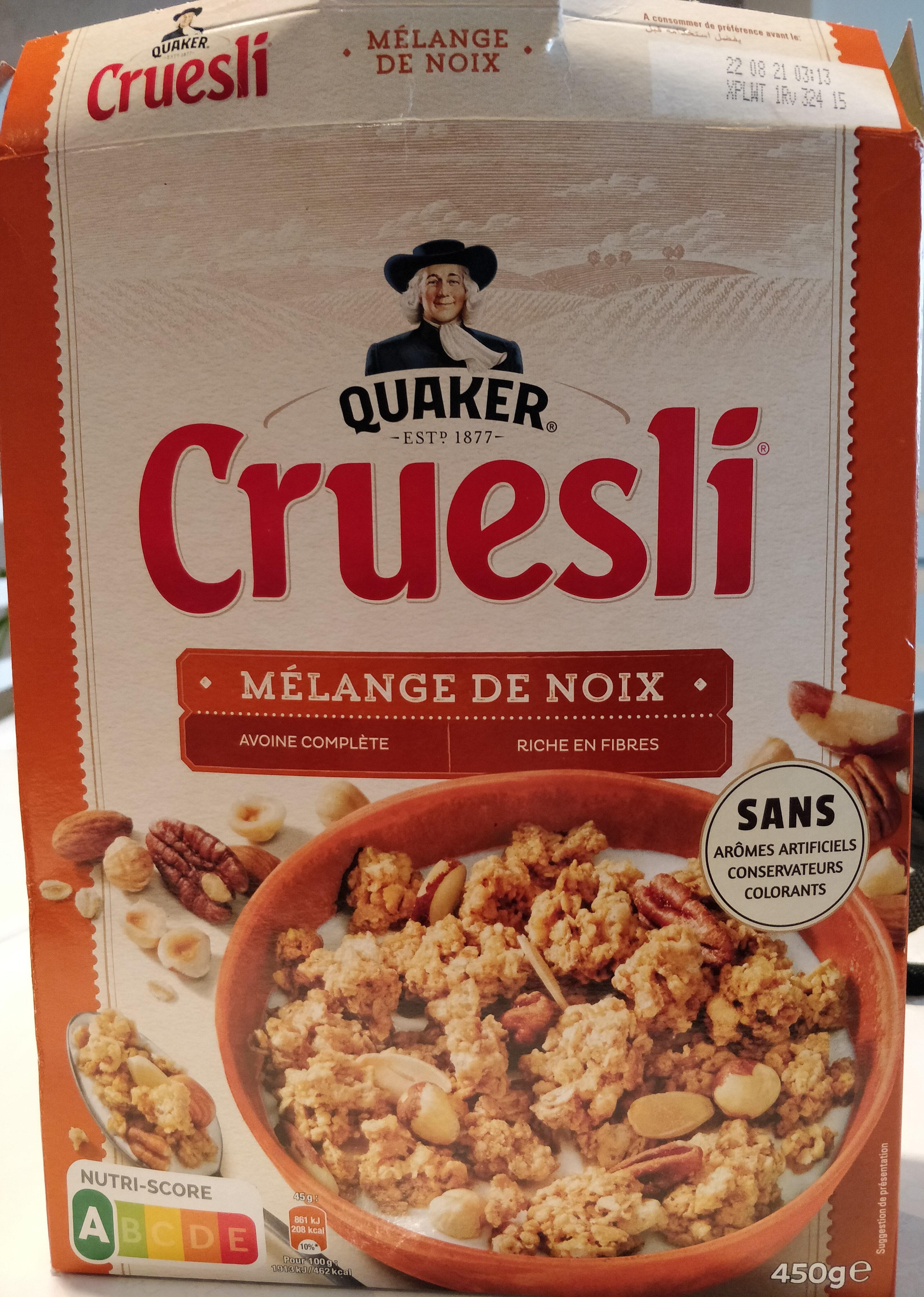 Cruesli Mélange de noix - Product - fr