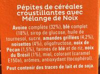 Cruesli Mélange de noix - Ingredienti - fr