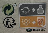 Cruesli Mélange de noix - Recyclinginstructies en / of verpakkingsinformatie - fr