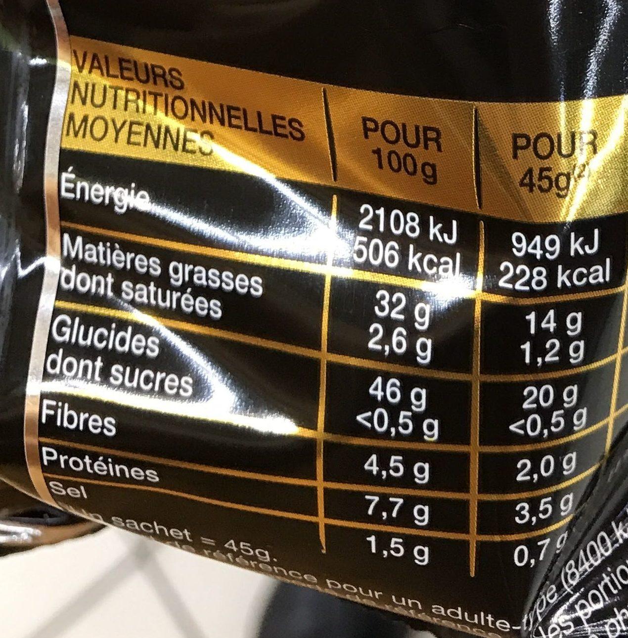 Gourmet Nature très croustillant - Nutrition facts
