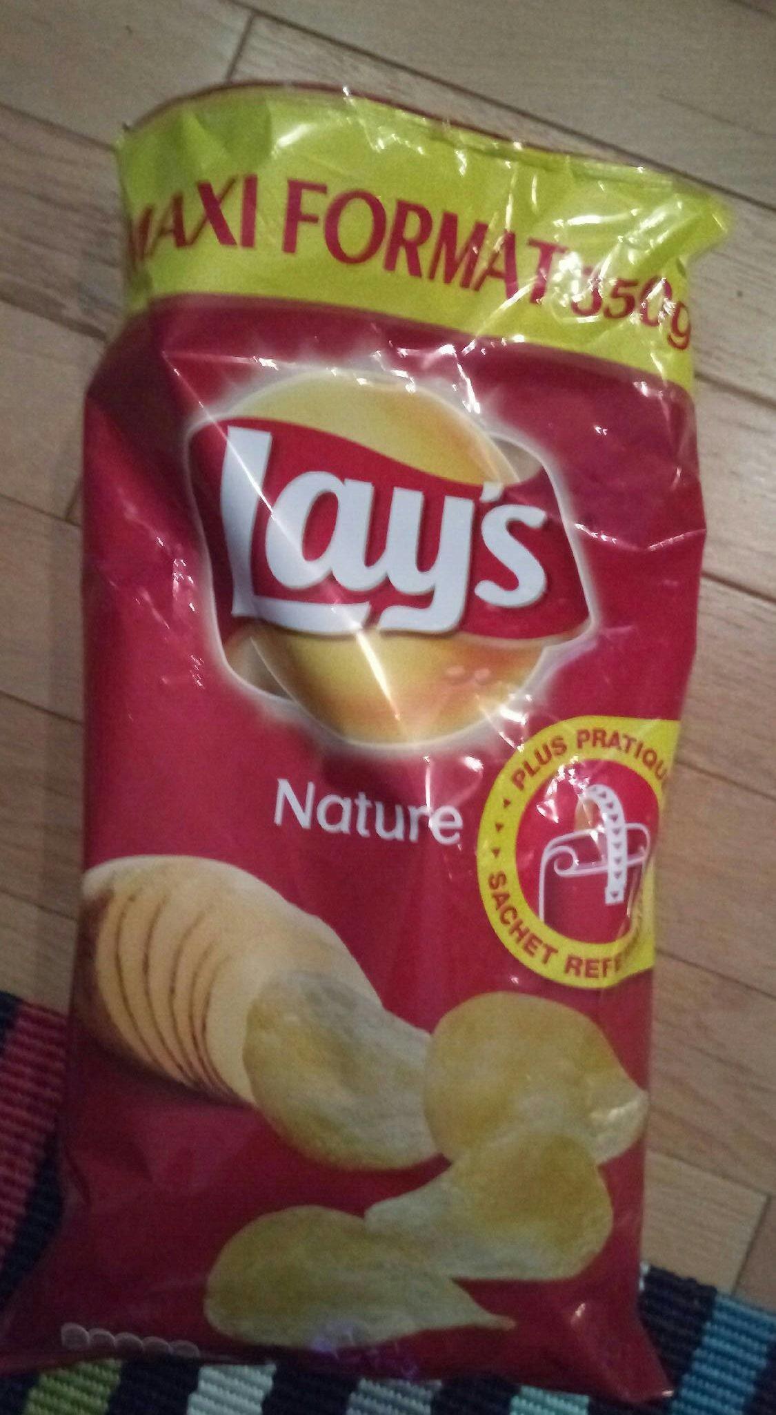 Chips nature maxi format - Produit - fr