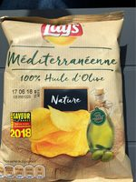 Chips méditerranéenne 100% huile d'olive nature - Product - fr