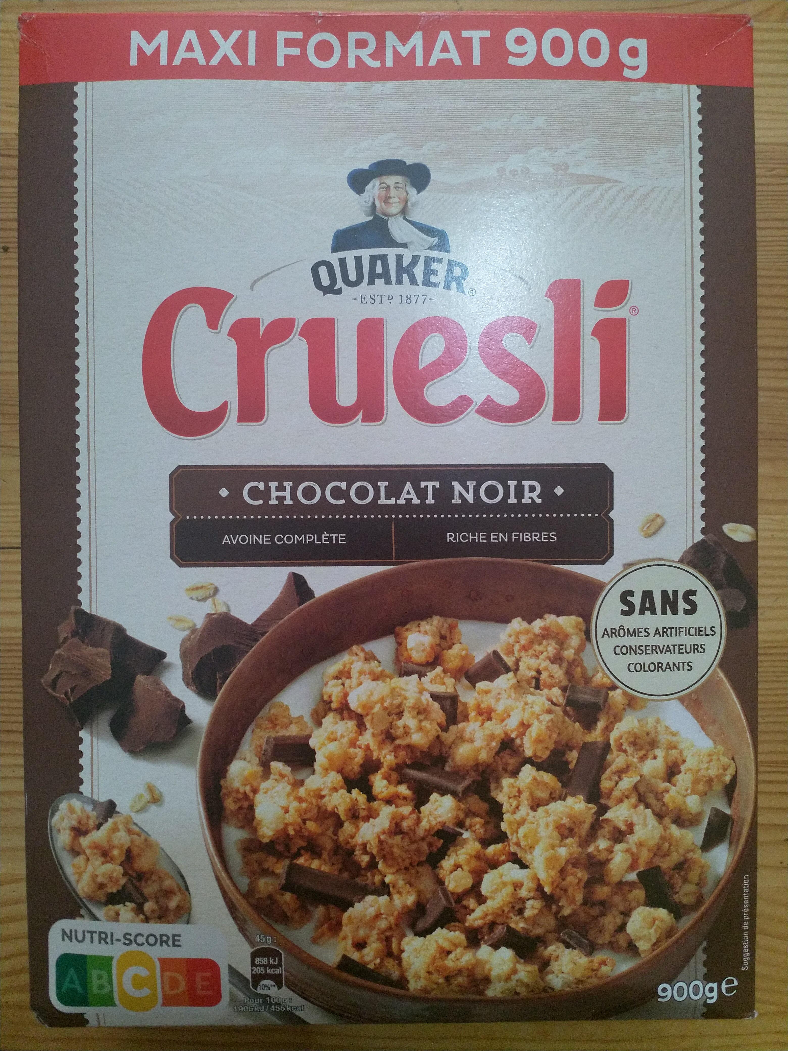 Quaker Cruesli Chocolat noir maxi format - Prodotto - fr