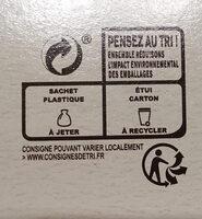 Quaker Cruesli Chocolat noir maxi format - Istruzioni per il riciclaggio e/o informazioni sull'imballaggio - fr