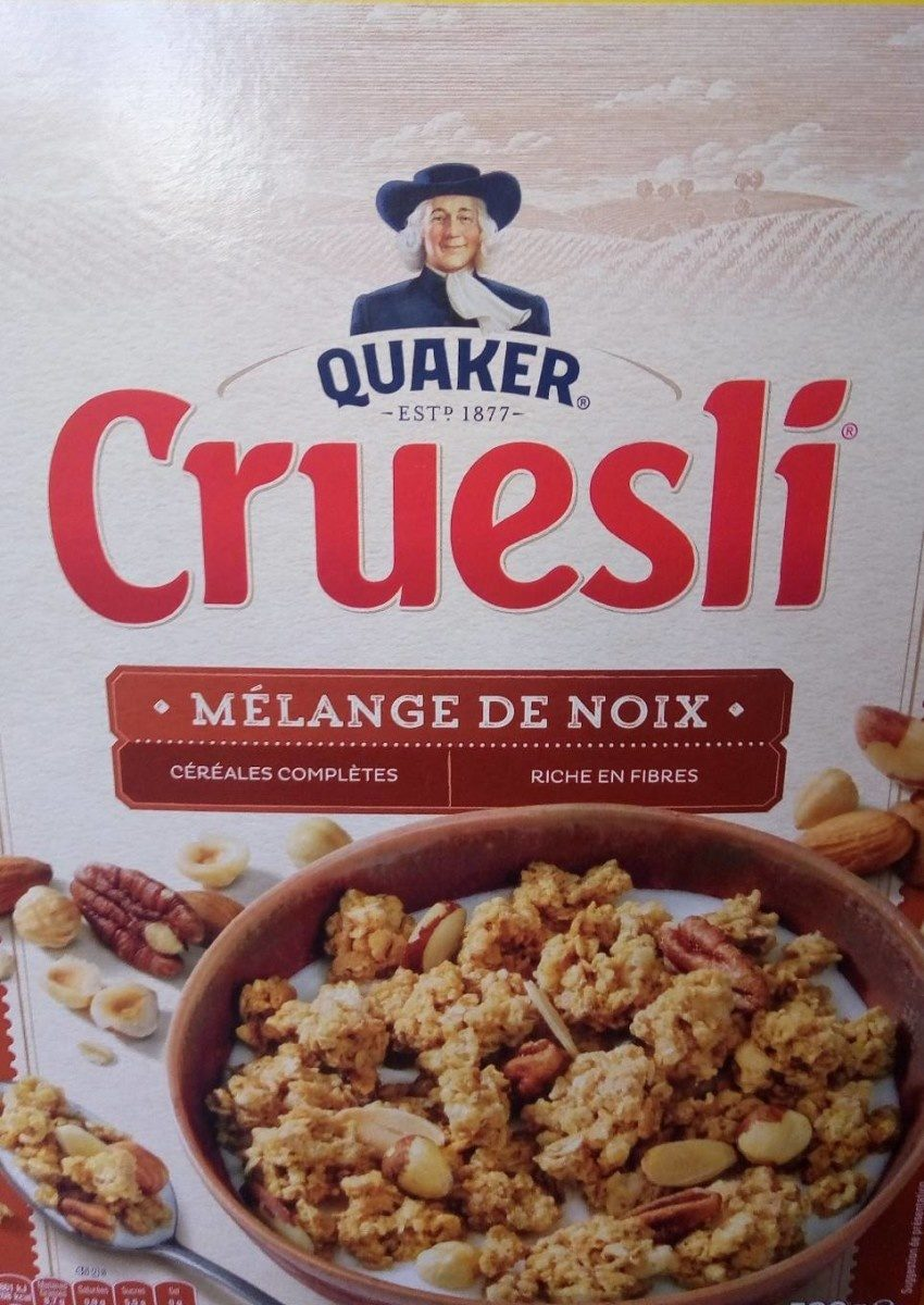 Quaker Cruesli Mélange de noix format spécial - Product - fr