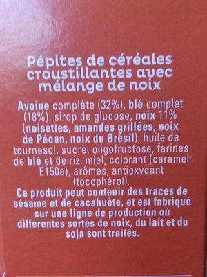 Quaker Cruesli Mélange de noix format spécial - Ingrediënten - fr