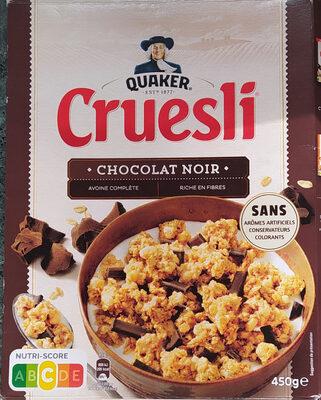 Quaker Cruesli Chocolat noir - Product - fr
