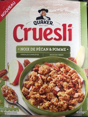Cruesli - Noix de pécan & pomme - Product - fr