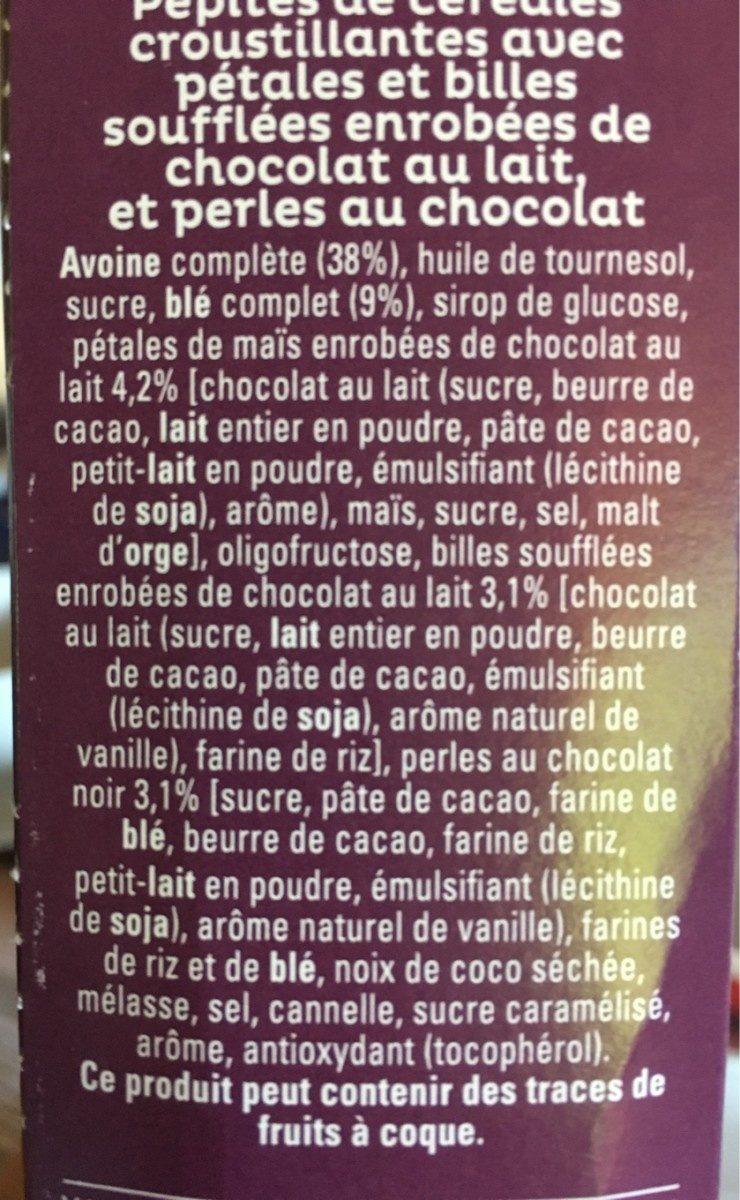 Quaker Cruesli Crispy chocolat - Ingrédients - fr