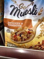 Golden Muesli (pommes, amandes) - Product - fr