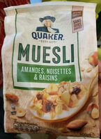 Golden muesli (amandes, noisettes, raisins) - Product - fr