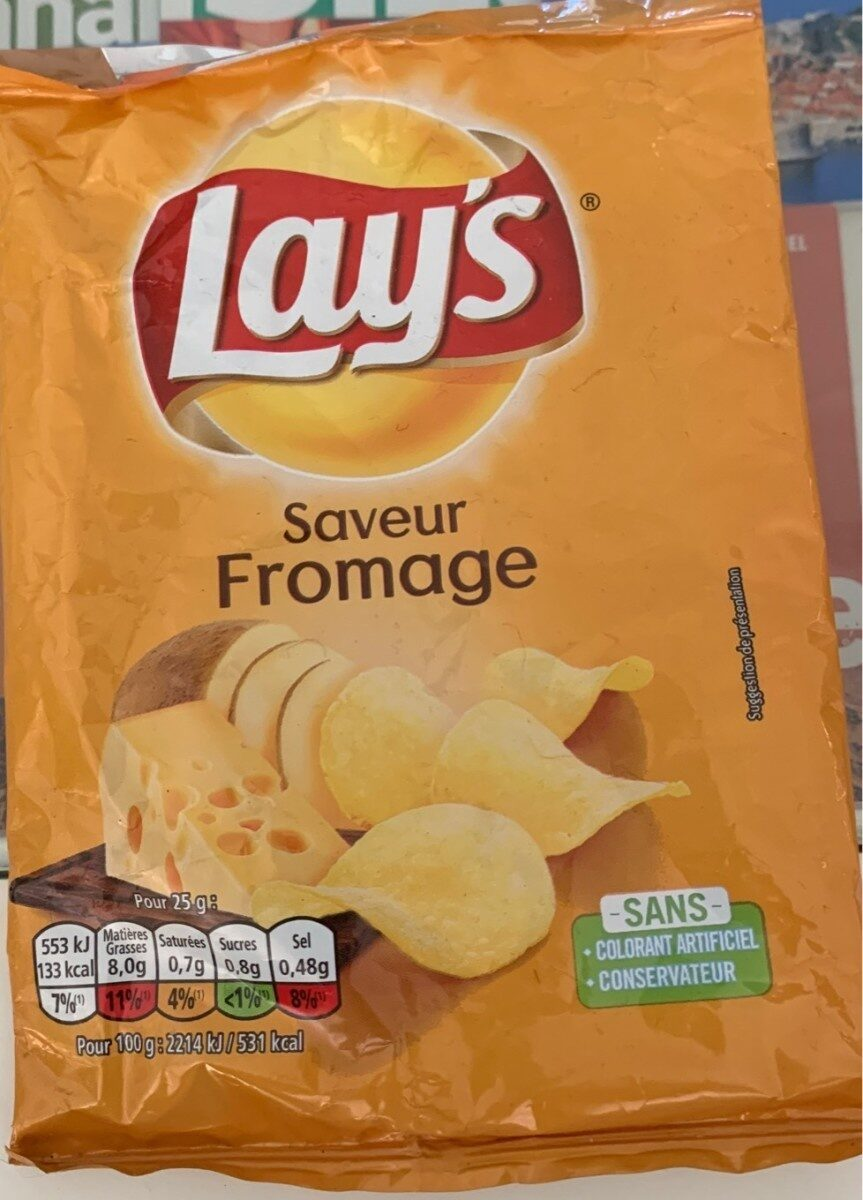 Chips Saveur Fromage - Product - fr