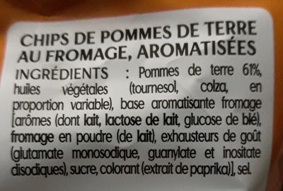 Chips Saveur Fromage - Ingrediënten - fr