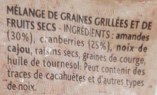 Plaisir Brut non salé - Ingrédients - fr