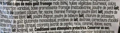 Doritos Nacho cheese flavour - Ingrédients - fr
