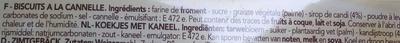 Delacre biscuits speculoos - Ingredienti