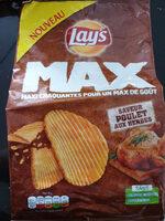 Lay's max saveur poulet aux herbes - Product - fr