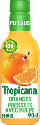 Tropicana Orange avec pulpe - Produit - fr