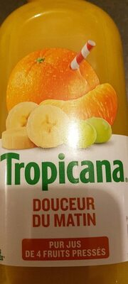 Tropicana Douceur du matin - Nutrition facts - fr