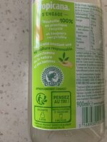 Tropicana Douceur du matin - Recycling instructions and/or packaging information - fr