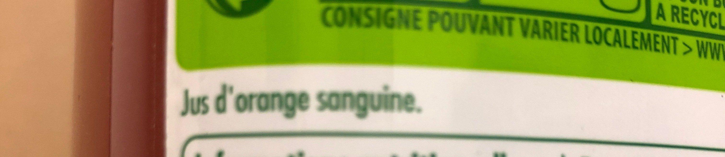 Sanguinello - Ingrediënten - fr