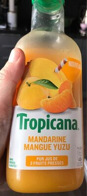 Tropicana Mandarine Mangue Yuzu - Product - fr
