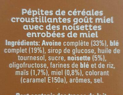 Cruesli - Ingredients