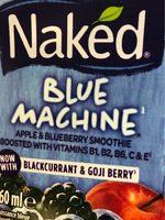 Naked Blue Machine - Product - fr