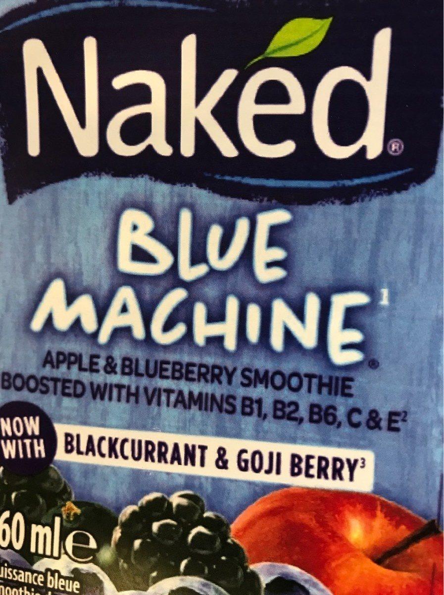 Naked Blue Machine - Produit