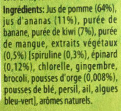 Naked green machine - Ingrediënten