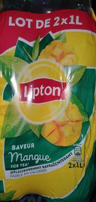 Lipton Ice Tea saveur mangue lot de 2 x 1 L - Prodotto - fr