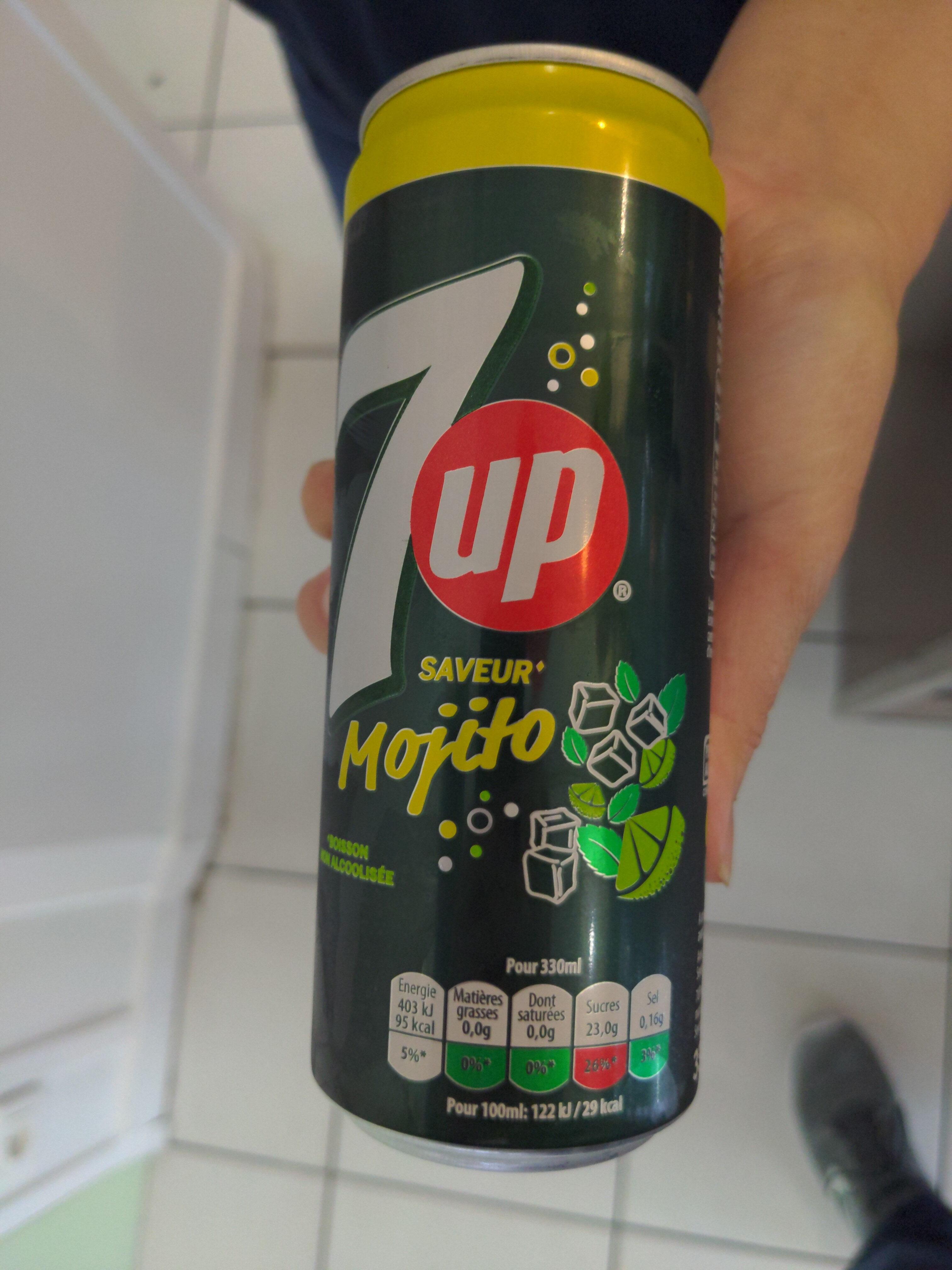 SEVEN UP saveur Mojito - Produit - fr