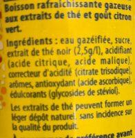 Liptonic - Ingrédients