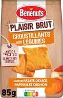 Plaisir Brut Croustillants patate douce, papika - Product - fr